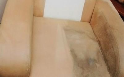 Hĺbkové tepovanie Malacky, Stupava - tepovanie kresla