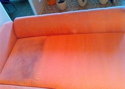 Upratovanie, tepovanie sedačiek, kobercov a čistenie kožených sedačiek Malacky, Stupava - tepovanie sedačky