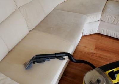 Upratovanie, tepovanie sedačiek, kobercov a čistenie kožených sedačiek Malacky, Stupava - čistenie sedačky